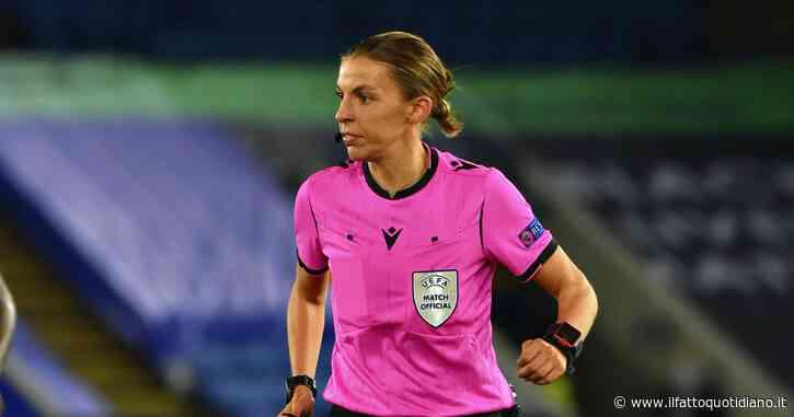 Stephanie Frappart arbitrerà Juventus-Dinamo Kiev: è la prima volta di un fischietto donna in Champions