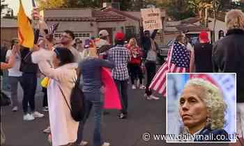 Anti-lockdown protesters march to home of LA public health director