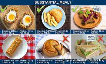 Coronavirus UK: Confusion after Scotch egg 'meal' classification
