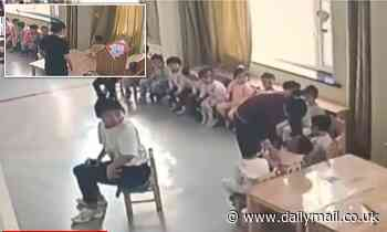 China kindergarten cruelty: Boy is 'pinched and isolated by teacher for two hours for not eating'