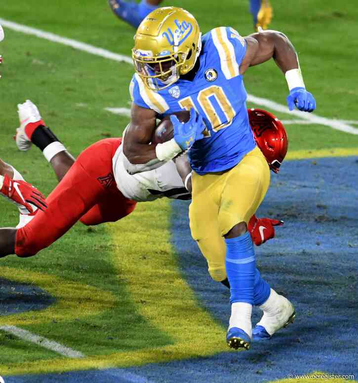 UCLA RB Demetric Felton avoids injury; Dorian Thompson-Robinson and others expected to return