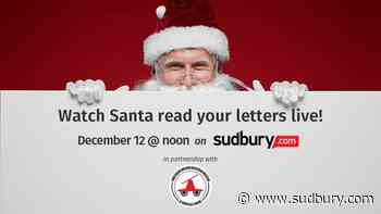 Santa is coming to Capreol, and he wants to read your letters live on Sudbury.com