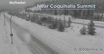 Strong winds, heavy snow for parts of B.C. Monday before storm clears
