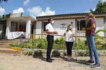 Gobernadora supervisa obras del hospital y dos puestos de salud en Tubará - EL HERALDO