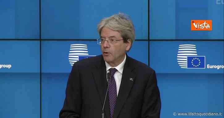 """Approvata la riforma del Mes, Gentiloni: """"Buona notizia per la stabilità della zona euro e per i cittadini"""""""