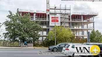 Berliner Haus in Wolfsburg überragt die Berliner Brücke - Wolfsburger Nachrichten