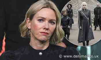 Naomi Watts reveals 'pain' over the shock cancellation of the Game Of Thrones prequel