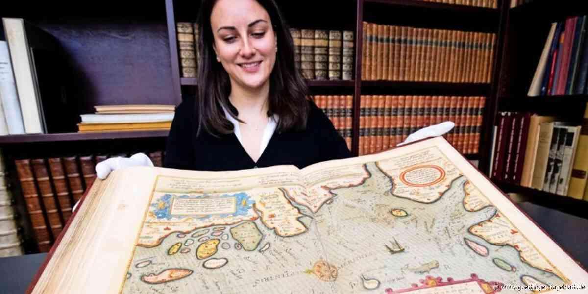 Brite ersteigert 450 Jahre alten Seeatlas in Hamburger Auktionshaus – für 325.000 Euro