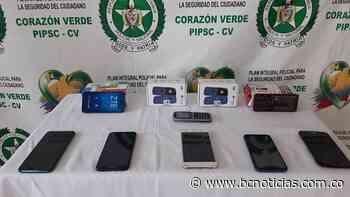 En Viterbo decomisaron 10 celulares que al parecer fueron robados - BC Noticias