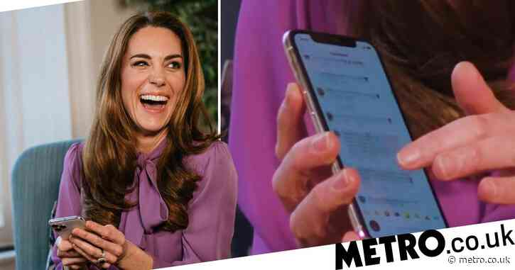 Kate Middleton accidentally reveals list of her most used emojis