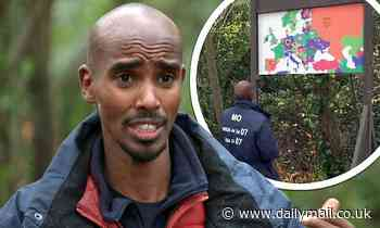 I'm A Celebrity 2020: Mo Farah struggles to find WALES on a map during the Castle Coin challenge