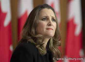 Spending too little worse than spending too much, Freeland says in fall update