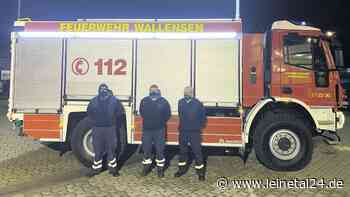 Wallenser Feuerwehr freut sich über neues TLF - leinetal24.de