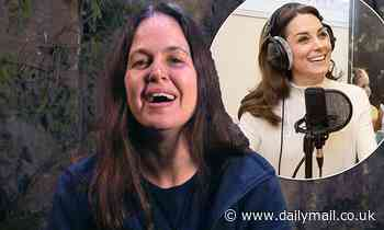 I'm A Celebrity's Giovanna Fletcher gushes about Kate Middleton