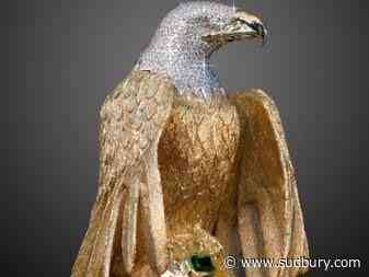 Owner of missing diamond-covered eagle loses latest round in insurance fight