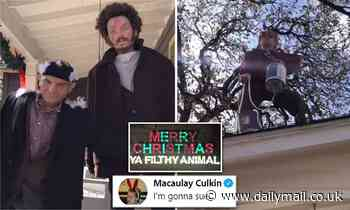 Austin man and wife use 3D printer to create realistic Home Alone Christmas display