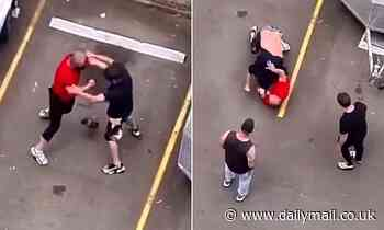 Violent 'fight club' brawl takes place in a western Sydney car park