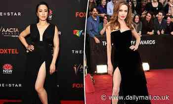 MasterChef's Melissa Leong has an Angelina Jolie moment at AACTA Awards