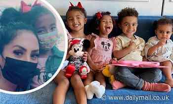 Kobe Bryant's widow Vanessa Bryant takes her daughters Bianka and Capri to Disney World