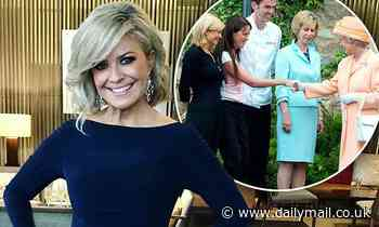 Home and Away's Emily Symons shares a photo of herself and The Queen
