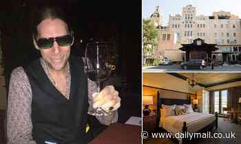 John Gilbert Getty was found dead in 'Indian style sitting pose' on hotel bed in front of his laptop