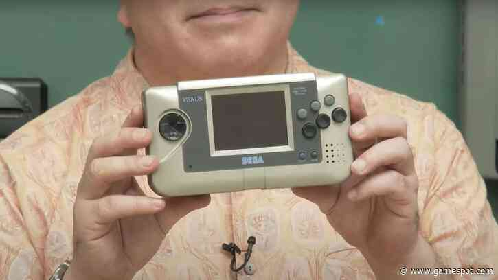 Sega Reveals Prototype Nomad Handheld For The First Time Ever