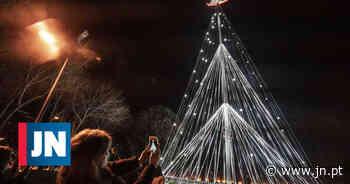 Vídeo: Aveiro já iluminou a maior árvore de Natal do país - Jornal de Notícias