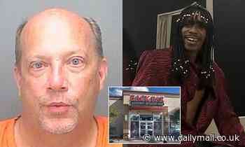 Drunk man, 50, who left Florida bar 4am punched taxi driver in the face before dancing in the street