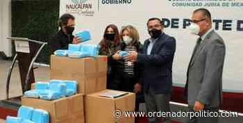 DONA COMUNIDAD JUDÍA 50 MIL CUBREBOCAS PARA NAUCALPAN - Ordenador Político