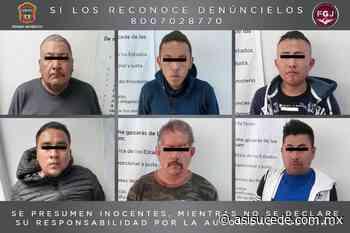 Procesan a seis sujetos por robo de vehículo con mercancía en Naucalpan - Noticiario Así Sucede