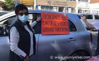 Naucalpan. Protestan con caravana por Plan de Desarrollo Urbano   El Universal - El Universal