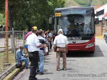 Piden a Bus Trujillo reactivar ruta Café Venezuela - Diario de Los Andes