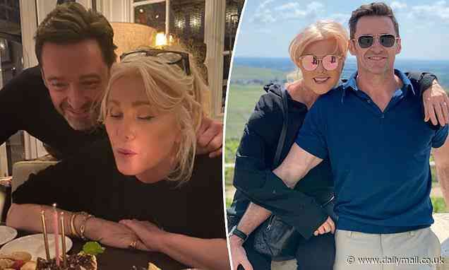 Hugh Jackman pays tribute to his 'incredible' wife Deborra-Lee Furness on her 65th birthday - Daily Mail