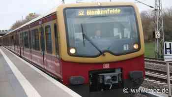S-Bahn und Zugverkehr: Ausfälle bei S2 zwischen Bernau und Berlin-Buch - RE3 und RB24 auch betroffen - moz.de