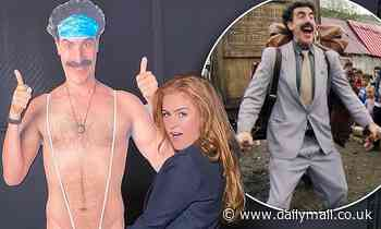 Isla Fisher admits she prefers not to know what husband Sacha Baron Cohen does when playing Borat