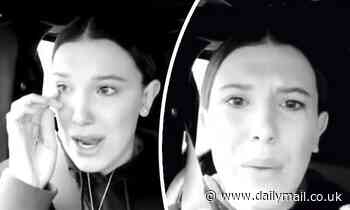 Millie Bobby Brown is accosted by fan and urges people 'to show more respect for others'