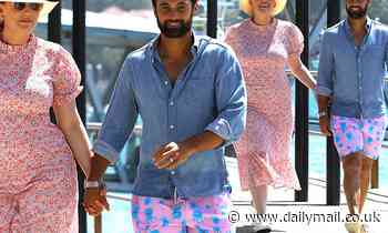 Married At First Sight's Jules Robinson and Cameron Merchant enjoy a date night