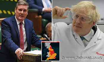 PM faces major Tory revolt in coronavirus Tiers vote TODAY