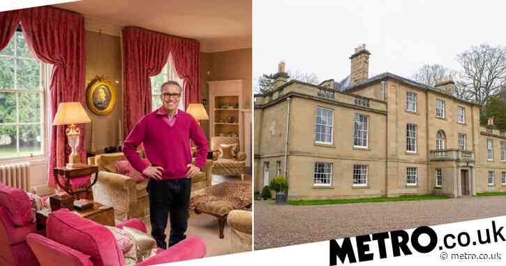 Will Ramsay's 18th century mansion is a treasure trove of old and new