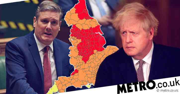 Tier system on verge of collapse as Tories rebel and Labour threatens to abstain