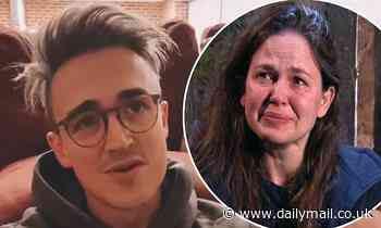 Tom Fletcher struggles to control his emotions after wife Giovanna fails to win a letter from home