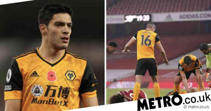 Wolves star Raul Jimenez speaks out for first time after fracturing skull against Arsenal