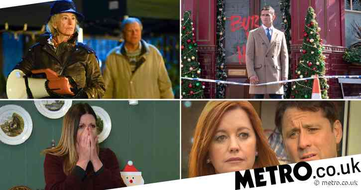 12 soap spoiler pictures: Coronation Street's 60th anniversary, EastEnders' Ian attack aftermath, Emmerdale secret exposed, Hollyoaks admission