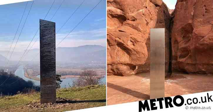 Unexplained metal monolith appears in Romania days after disappearing from Utah