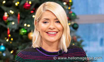 Holly Willoughby shares glimpse of stunning Christmas tree at her family home