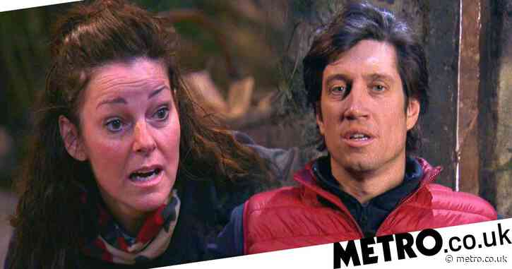 I'm A Celebrity 2020: Vernon Kay and Ruthie Henshall had secret spat in deleted scene