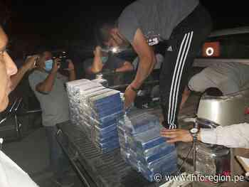 Satipo: Decomisan 335 kilos de droga camuflada en camión y moto - INFOREGION