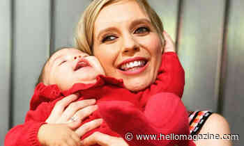 Rachel Riley and Pasha Kovalev's baby laughing is the cutest thing you'll see all day