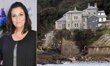 Inside The Vicar of Dibley star Dawn French's Cornwall home