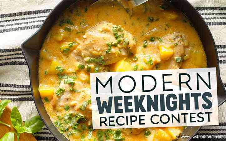 Presenting the Winners from Our Modern Weeknights Recipe Contest